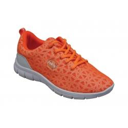 Dámska obuv  WD 600470 ORANGE